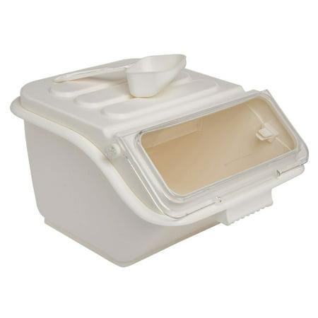 Ingredient Bin - Hubert Ingredient Bin 34 Cup White - 14 1/2 L x 11 5/8 W x 8 5/8 H