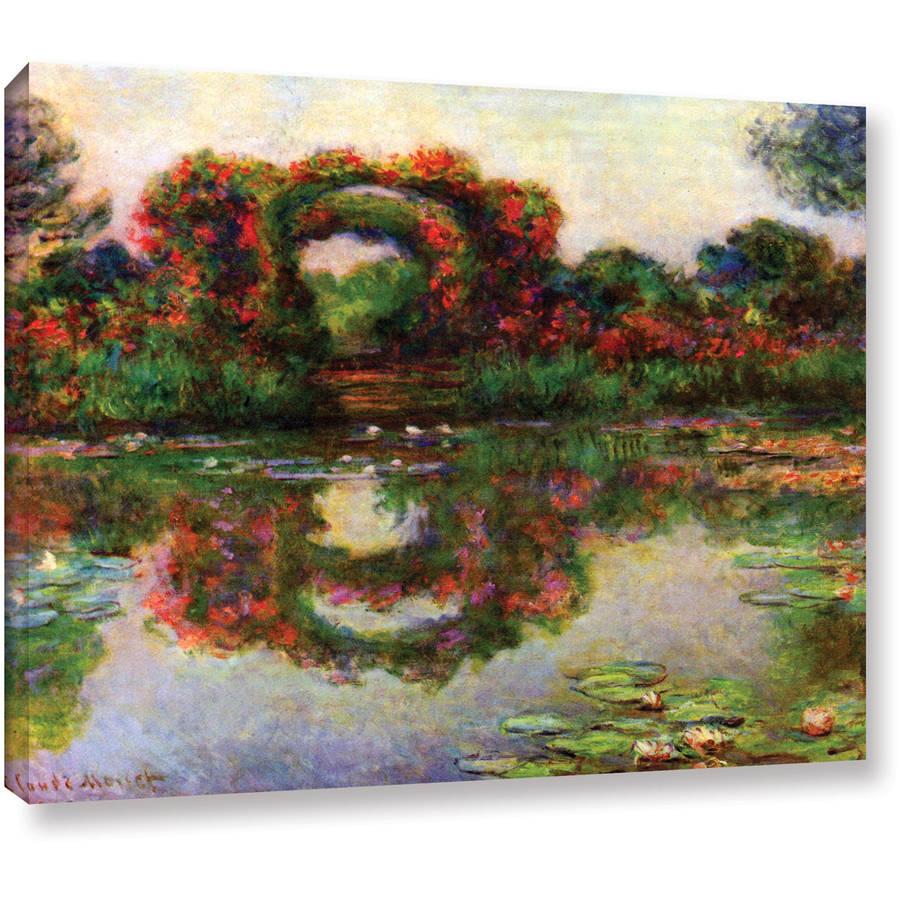 "Claude Monet ""Foliage Trestle"" 36X48 Gallery-Wrapped Canvas"