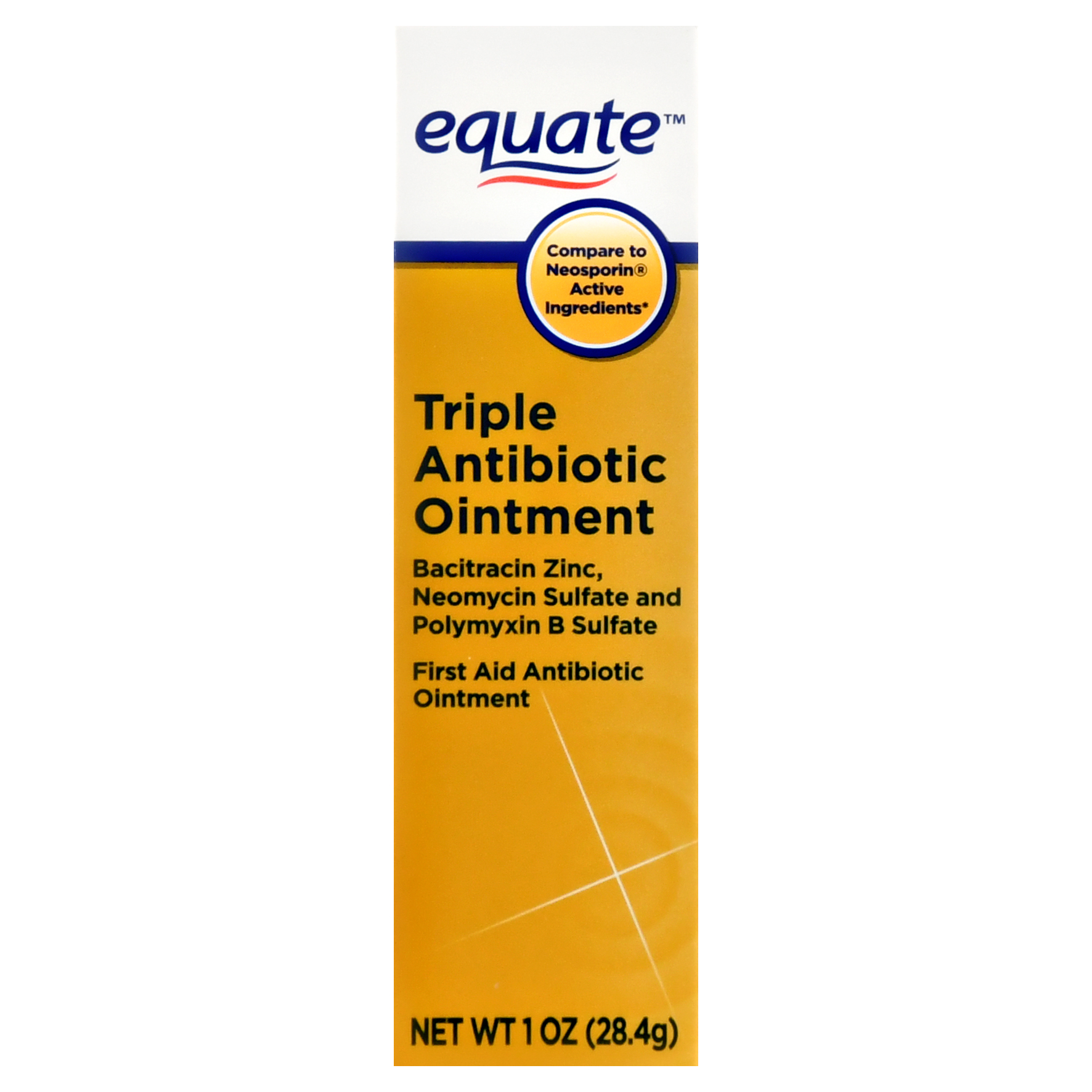 Equate Triple Antibiotic Ointment, 1 oz