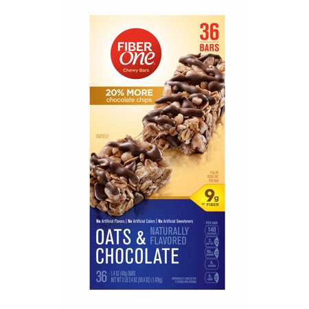 Fiber One Oats & Chocolate Chewy Bars, 36 ct. ()