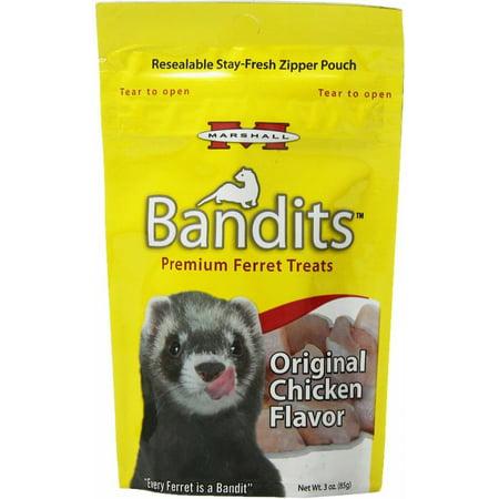 Marshall Bandits Ferret Treats (Marshall Bandits Ferret Treat Chicken 1.875lbs (10 x 3oz) )