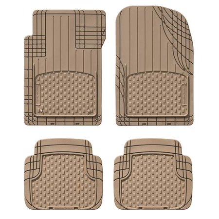 WeatherTech Trim-to-Fit All Vehicle Front And Rear Mat, Tan