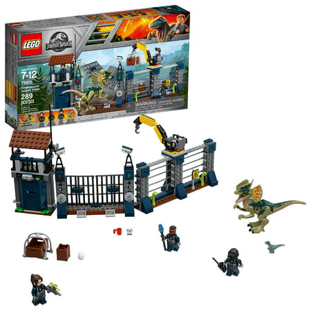 LEGO Jurassic World Dilophosaurus Outpost Attack 75931 - Lego Snacks