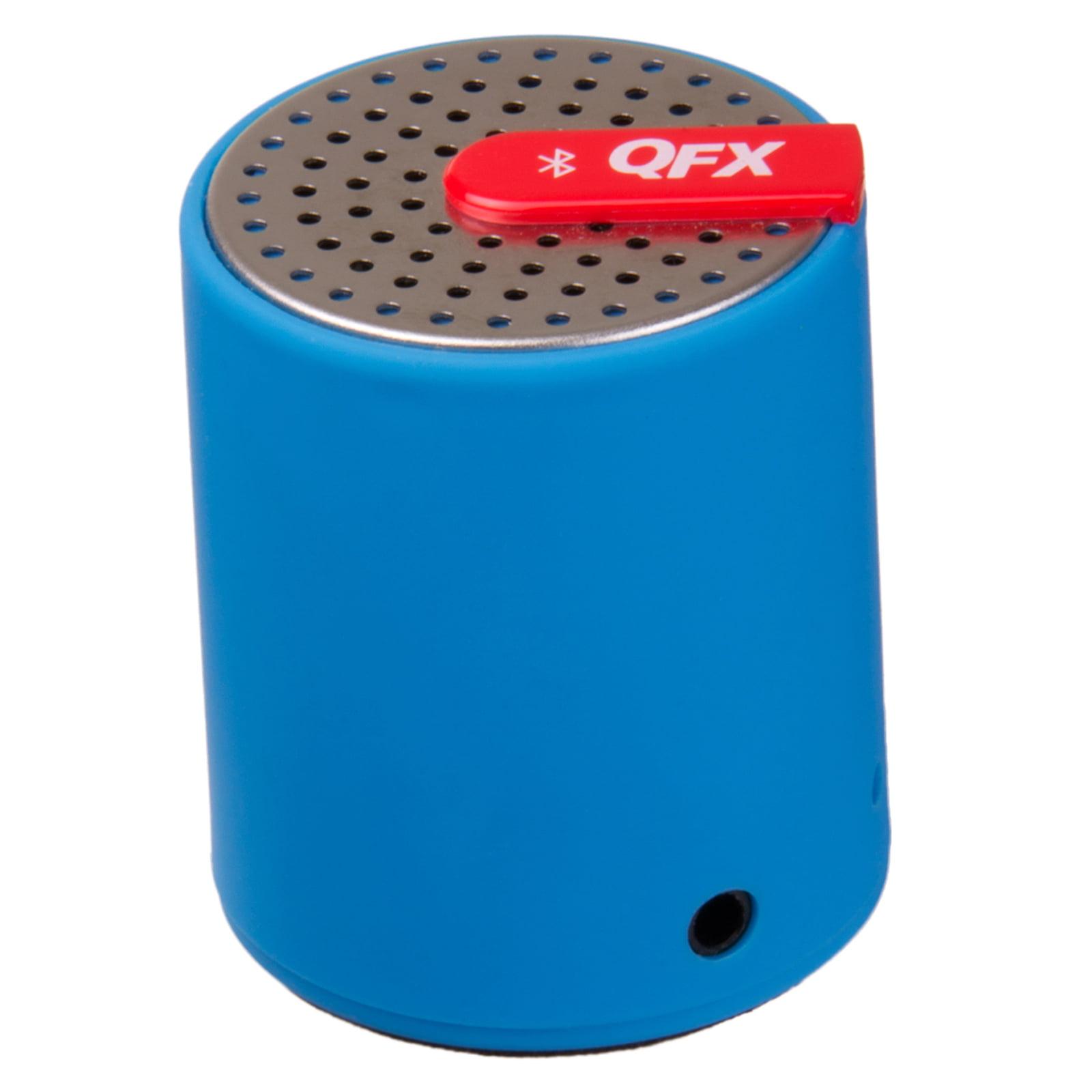 QFX CS-27BT Bluetooth altavoz portátil con entrada AUX-IN (azul) + Coleman en Veo y Compro