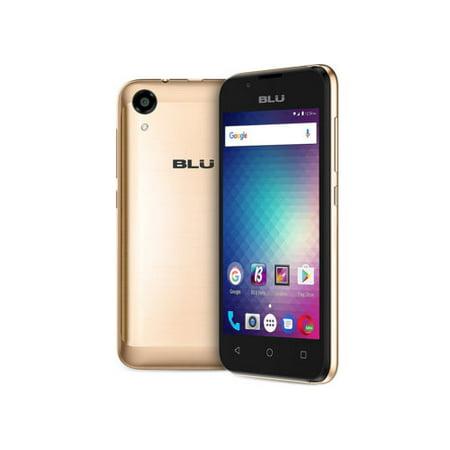 BLU Advance 4.0 L3 A110U Unlocked GSM Dual-SIM Phone - Gold
