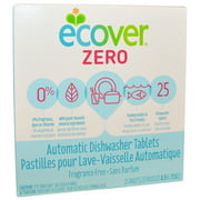 Zero, Automatic Dishwasher Tablets, Fragrance Free, 25 Tablets, 17.6 oz (0.5 kg)