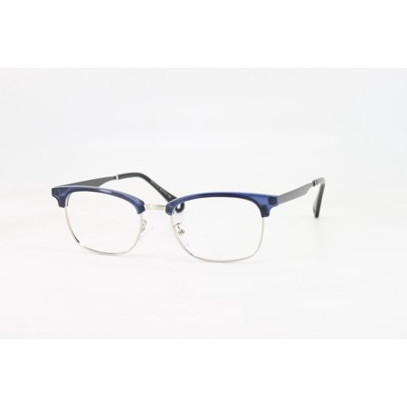 aa60849336a Ebe Reading Glasses Mens Womens Blue Horn Rimmed Trendy Anti Glare grade  ckbhs9172 - Walmart.com