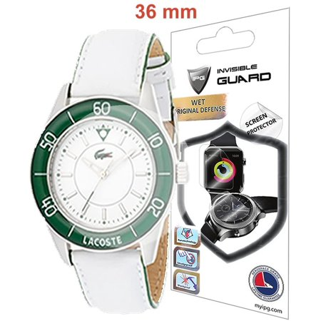 Universal Round Watch Screen Protector (2 Units) Bubble Free Anti-Scratch Invisible Protection Good for Smart Watch Too by IPG Size Options are Available (45mm Diameter) - image 1 de 4