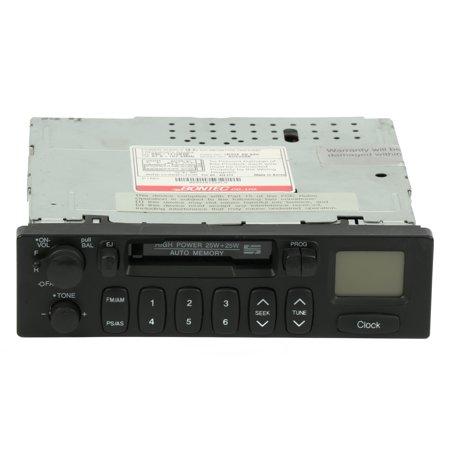 2000-2002 Kia Rio OEM AM FM Radio Cassette Player w Clock Part Number 1K30F66860 - Refurbished