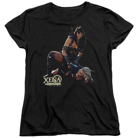 Xena Warrior Princess In Control Womens Short Sleeve Shirt - Xena Warrior Princess Outfit