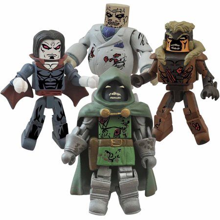 Diamond Select Toys Marvel Minimates Zombie Villains Box Set #2](Marvel Villains Women)