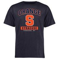 Syracuse Orange Campus Icon T-Shirt - Navy