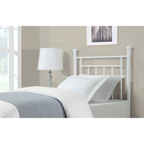 Dorel Living Twin Headboard, White by Dorel Asia