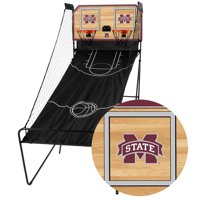 Mississippi State Bulldogs Classic Court Double Shootout Basketball Game - No Size