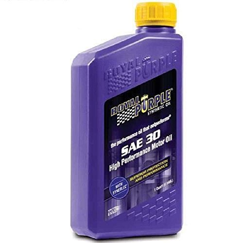 Royal Purple 06030-6PK API-Licensed Heavy Duty SAE 30 High Performance Synthetic