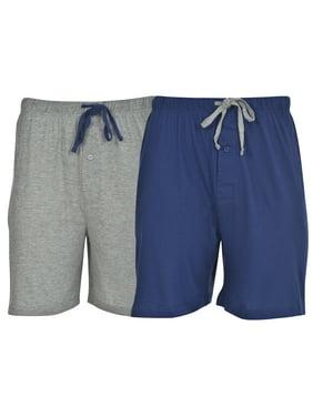 1baea1220f0 Product Image Hanes Big & Tall Men's 2-Pack Knit Sleep Jam Short