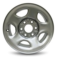 "Road Ready Replacement 16"" Gray Steel Wheel Rim 1999-2005 Chevy Silverado 2003-2005 Astro 2003-2008 Express 1999-2005 GMC Sierra 2003-2005 Safari 2003-2008 Savanna"