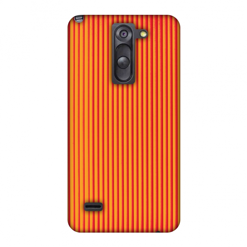 LG G3 Stylus D690 Case, Premium Handcrafted Printed Designer Hard Snap on Shell Case Back Cover with Screen Cleaning Kit for LG G3 Stylus D690 - Carbon Fibre Redux Tangy Orange 14