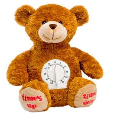 8325565617 Time Out Plush Bear With Timer - image 1 of 1 ...