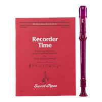 Rhythm Band Instruments CR101P-1 Canto Soprano Recorder - Purple
