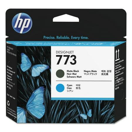 - HP 773, (C1Q20A) Cyan/Matte Black Printhead -HEWC1Q20A