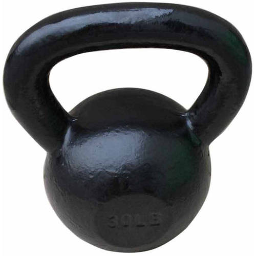 Sunny Health and Fitness Black Kettle Bell