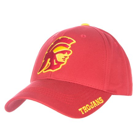 Usc Trojans Yard (Men's Cardinal USC Trojans Kingman Adjustable Hat - OSFA )