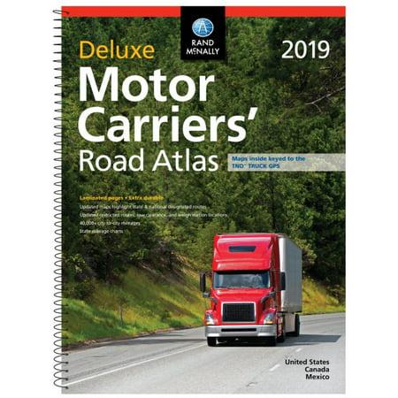 2019 deluxe motor carriers' road atlas : dmcr:
