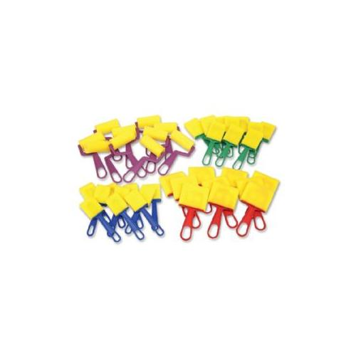 CHENILLE KRAFT COMPANY Foam Paint Brush Set, 40 Pieces, Assorted