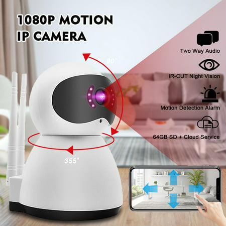 Security Camera,960P Smart Home Wireless WiFi Camera with Night Vision,Two-way Audio,Support Onvif and APP Control