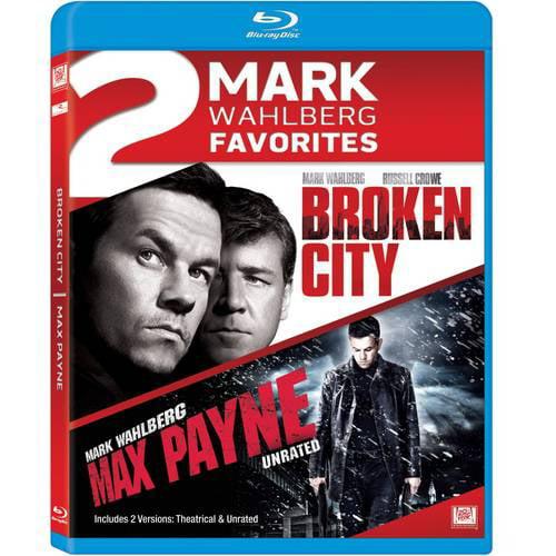 2 Mark Wahlberg Favorites: Broken City / Max Payne (Unrated) (Blu-ray)