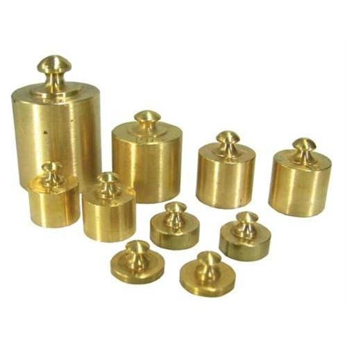 Olympia Sports 15772 10 pc.  Brass Weight Set
