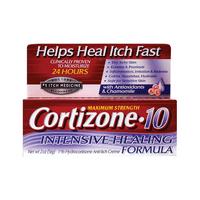 Cortizone-10 Max Strength Intensive Healing Formula, 2 oz Cream