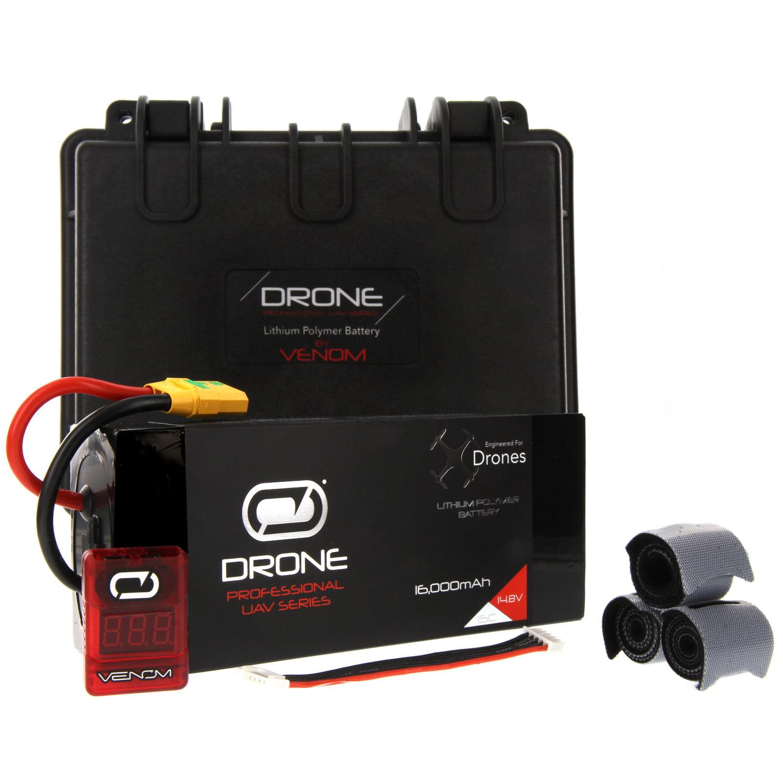 Tarot 690S 15C 4S 16000mAh 14.8V LiPo Drone Pro Battery w/ XT90-S plug by Venom