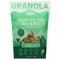Mountain Rise Organics Mountain Rise Organics Granola, 13 oz