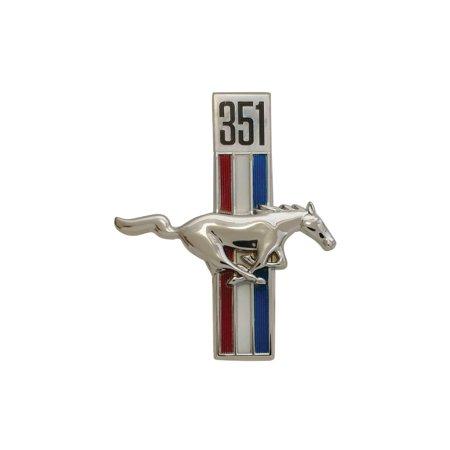 MACs Auto Parts Premier  Products 44-41160 67-68 Running Horse & 351 Emblem / (Horse Emblem)