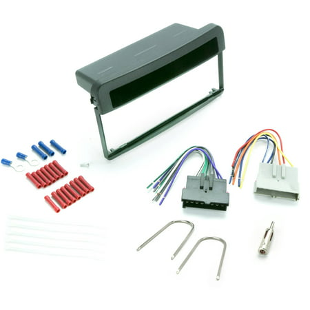 INSTALL CENTRIC ICFD3BN Ford Focus/Mercury Cougar 1999-02 Complete Car Stereo Installation Kit