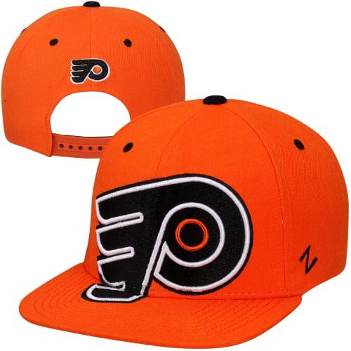 Zephyr Philadelphia Flyers Scoundrel Snapback Adjustable Hat - Orange - OSFA