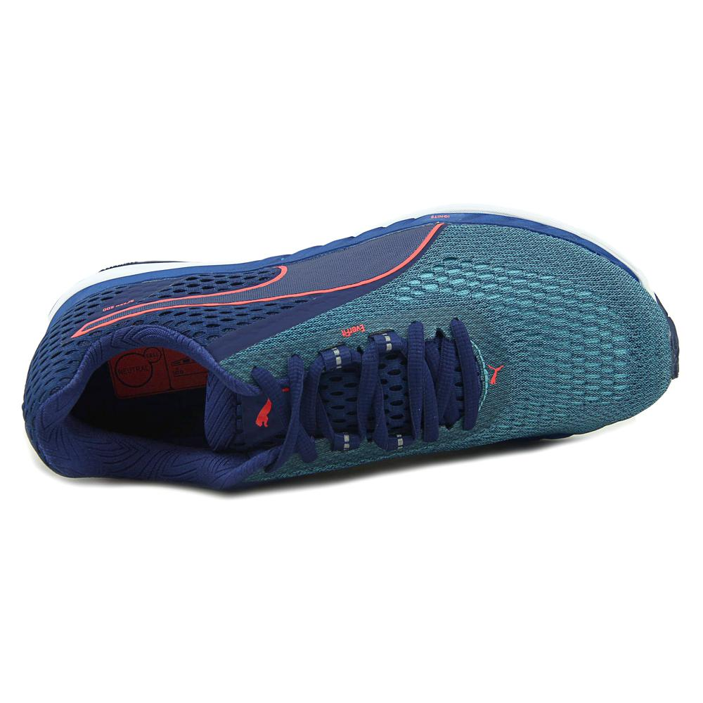Puma Men's Speed 500 Ignite 2 Blue Depths / Nrgy Turquoise Ankle-High Running Shoe - 14M