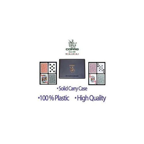 WMU 403846 100% Plastic 24 Decks of CopagT Playing Cards