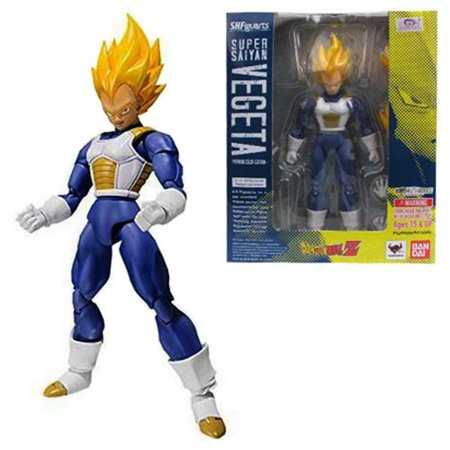 Bandai Tamashii Nations Dragon Ball Z Super Saiyan Vegeta Action