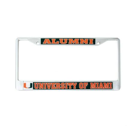Desert Cactus University Of Miami Alumni Metal License