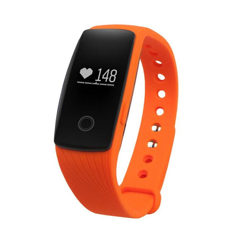 TechComm GT7 Water Resistant Fitness Activity Tracker Heart Rate Monitor
