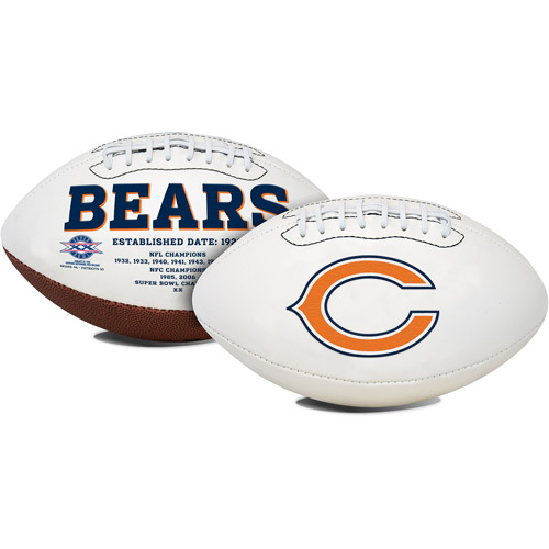 Rawlings Signature Series Full-Size Football, Chicago Bears