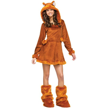 Sweet Fox Teen Halloween Costume - One - Teen Diy Halloween Costumes