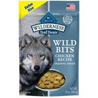 Blue Buffalo Wilderness Trail Treats Wild Bits Grain-Free Soft-Moist Training Dog Treats