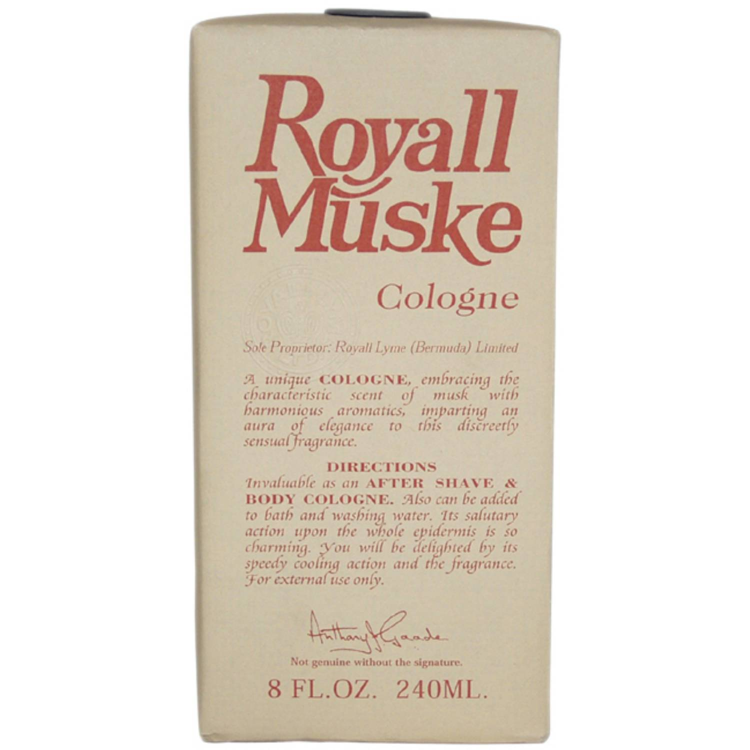 Royall Fragrances Royall Muske Lotion Splash, 8 oz