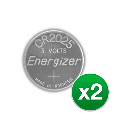 Replacement Battery for Energizer CR2025VP (2-Pack) Replacement Battery by Energizer