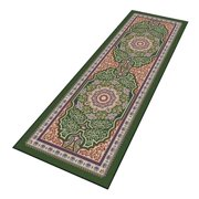 NOTRAX 170S0412GN Carpeted Runner, Emerald, 4 x 12 ft.