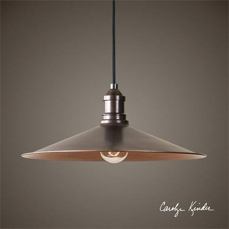 Uttermost Barnstead 1 Light Copper Pendant - image 3 de 3